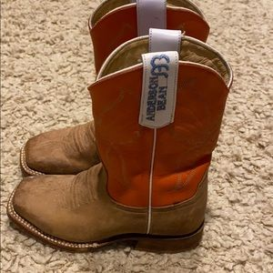 Kids Anderson Bean Cowboy boots leather 11